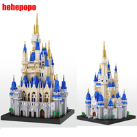 5500pcs 16061 Castle Diamond Small Particle Building Blocks Assembling Bricks Toy Big Size Castle Model Toys for Children Gift