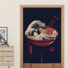 Японские дверные занавески, занавески с перегородками, декоративные занавески для ресторана, декоративные занавески для лапши, магазина, к...