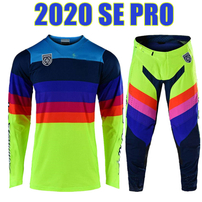 motocross jersey and pants
