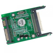 Compact Flash FC Serial ATA SATA Adaptateur Convertisseur