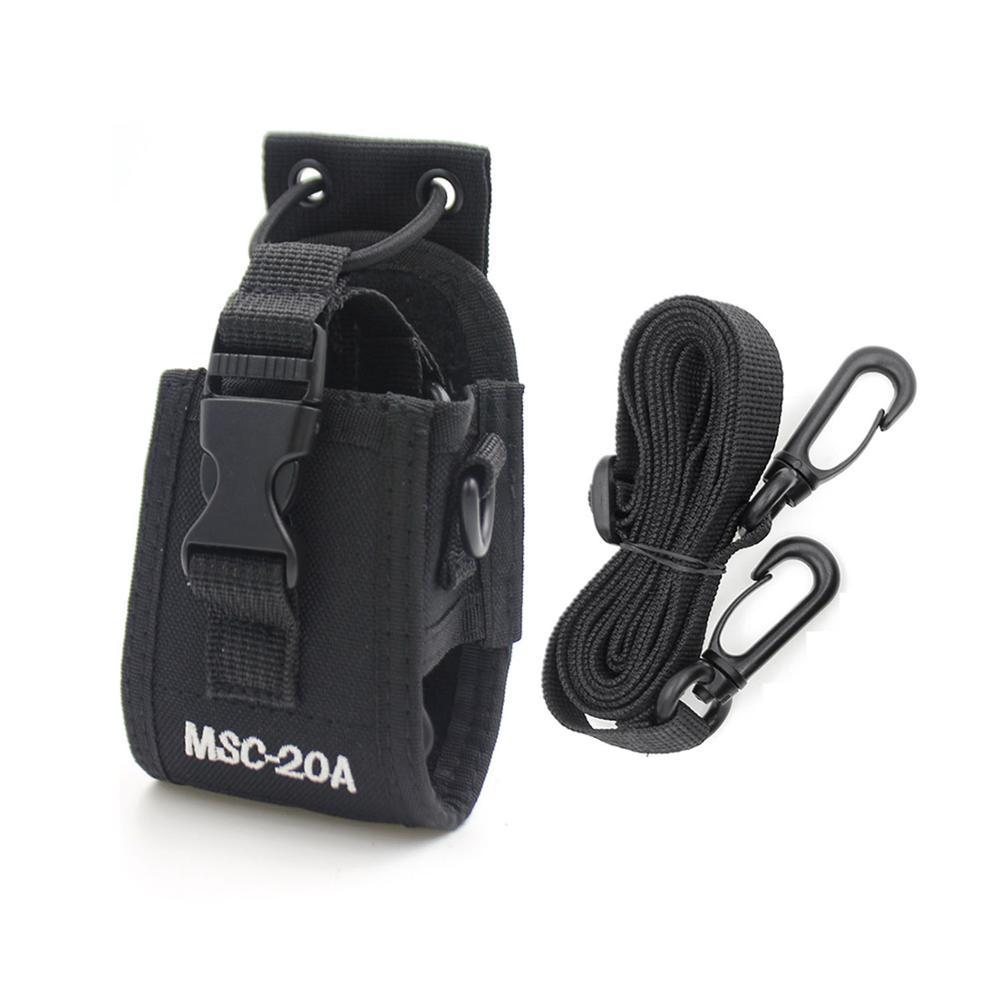 Radio Case Holder MSC-20A Nylon Carry Case For Baofeng UV-5R UV-82 UV-888S UV-9R Walkie Talkie