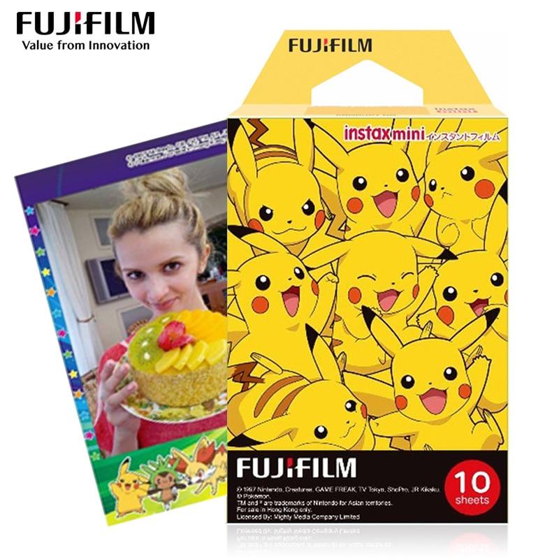 Fujifilm Instax Mini Pokemon Instant 10 Film For Fuji 7s 8 25 50s 70 90 & SP-1, 2 Printer