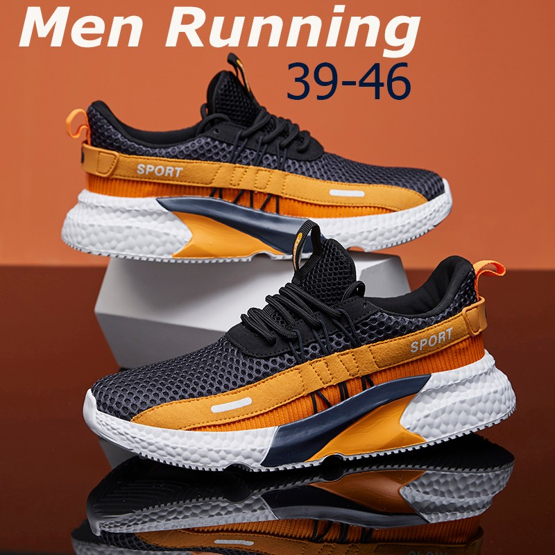 2020 New Mesh Men Casual Shoes Lac-up Men Shoes Lightweight Comfortable Breathable Walking Sneakers Tenis Feminino Zapatos 46