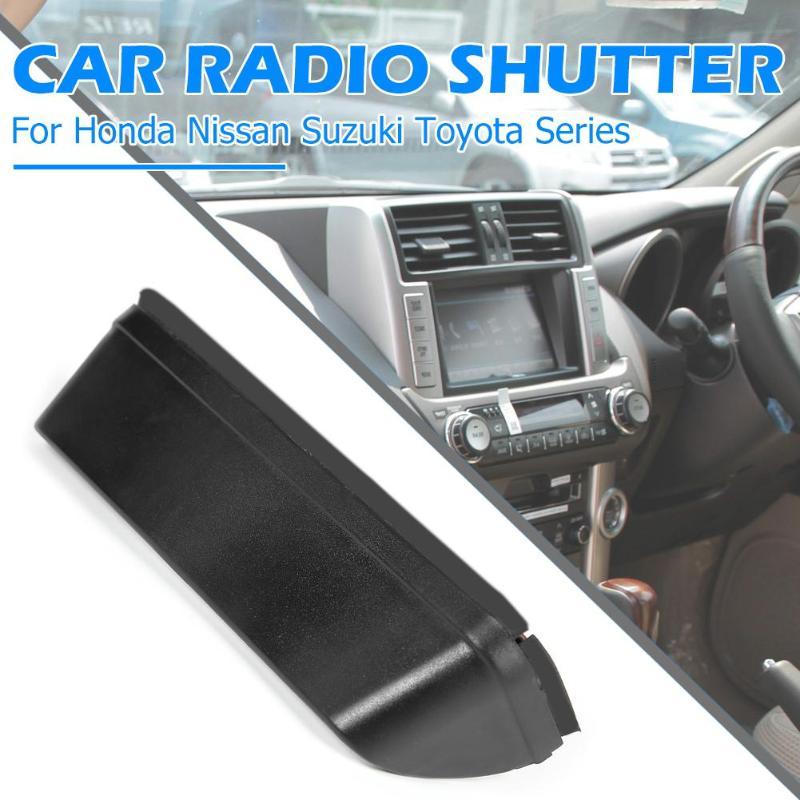 Автомобильный Даш Радио солнцезащитный козырек с антибликовым покрытием gps Navi капюшон шапка-маска для Honda Универсальный продуманный производство длительная долговечность