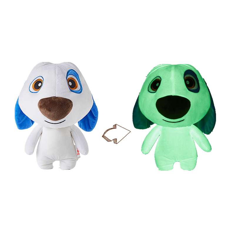 Glow In The Dark Dog Toy Luminous Stuffed Animals Plush Hank Talking Tom And Friends Safety Material Christmas Birthday Gift
