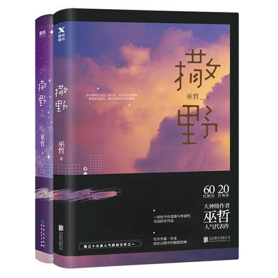 2 Pcs/set Chinese Novel SA YE Youth Fiction Book written by Wuzhe image
