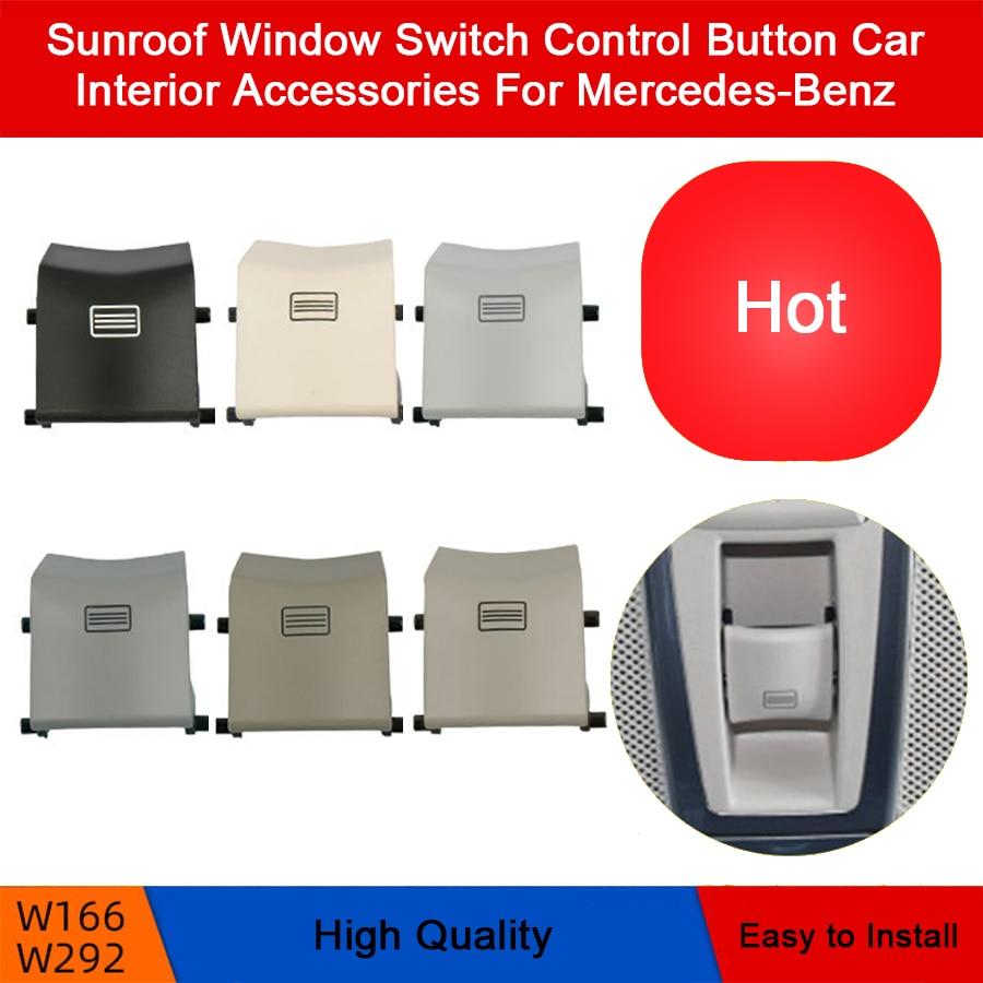 Сменный переключатель окна на крыше автомобиля, кнопка управления, аксессуары для интерьера автомобиля для Mercedes-Benz W166 W292 ML300 GL350 GLS