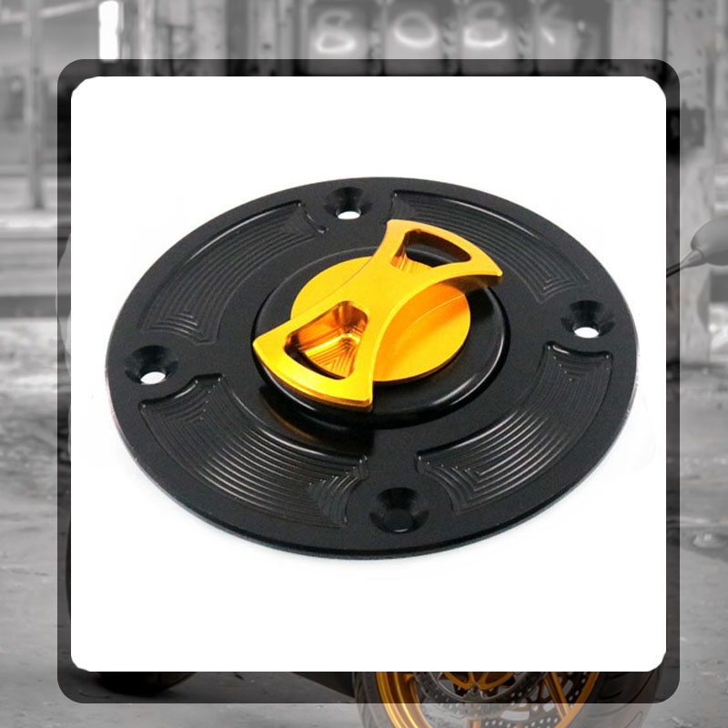 CNC Fuel Gas Cap for Kawasaki ZX 6R 6RR 9R 10R ZZR ZRX ZX1100 B