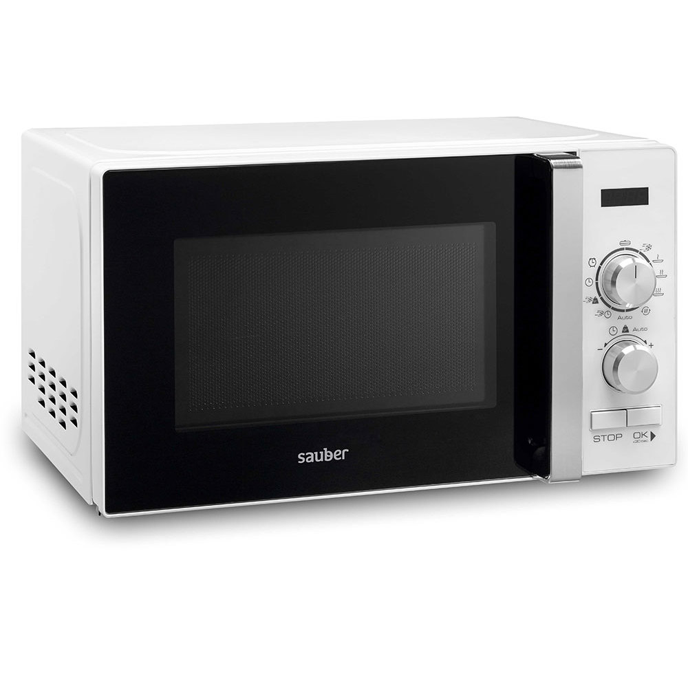 Microware Oven With Grill Sauber HMS02WDG 20 Liter White