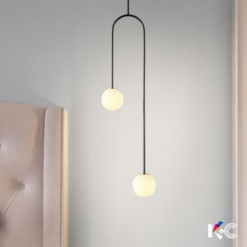 Nordic restaurant modern bedroom G9 LED crystal ball chandelier nightstand kitchen warm light accessories|Pendant Lights| |  - title=