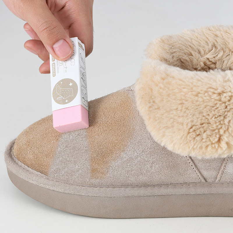 Japan Rubber Block for Suede Leather Shoes Boot Clean Care Eraser Shoe Brush Stain Cleaner Decontamination Wipe Natural Rubbing
