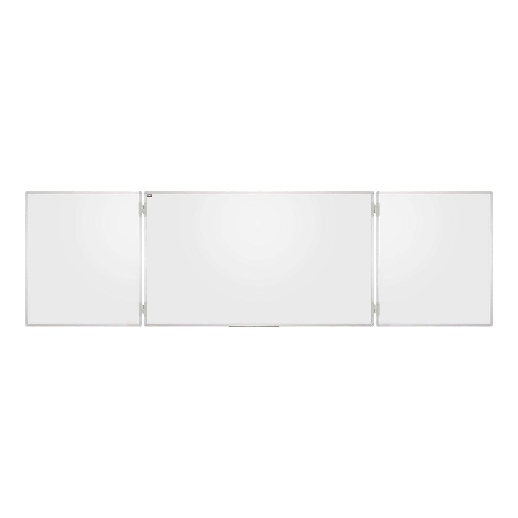 SLATE TRIPTICA VITRIFIED WHITE 400X100cm (200X100cm CLOSED)