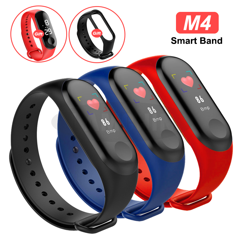 Smart Watch Bracelet Band Fitness Tracker Waterproof Sport Wristband Bracelet Color Screen Smart Band For iPhone image