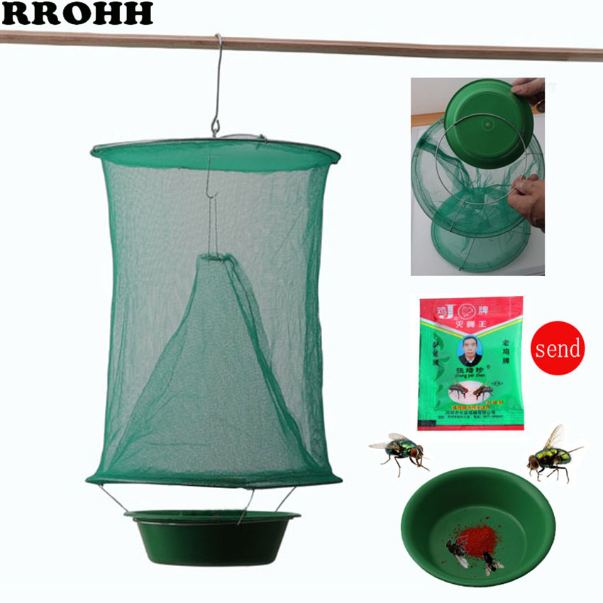2019 NEW Flycatcher Mosquito Trap Catcher The Ultimate Red Drosophila Fly Trap Top Catcher Fly Wasp Insect Bug Killer-in Traps from Home & Garden