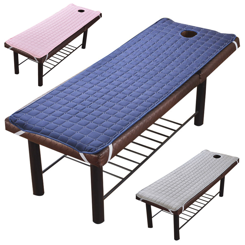 High quality Massage Table Sheets Massage Sheet SPA Treatment Bed Sheet Message Table Cover With Face Breath Hole 185*70cm