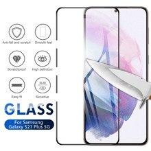2 pçs vidro temperado para samsung galaxy s21 plus ultra 5g protetor de tela de vidro para galaxy s21 ultra s21 + 5g protecive fim vidro