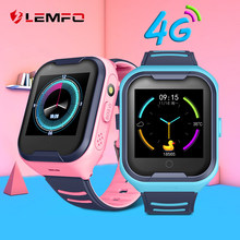 LEMFO G4H 4G Kids Smart Watch GPS Wifi Ip67 Waterproof 650Mah Big Battery 1.4 Inch Display Camera Take Video Smartwatch Kids(China)