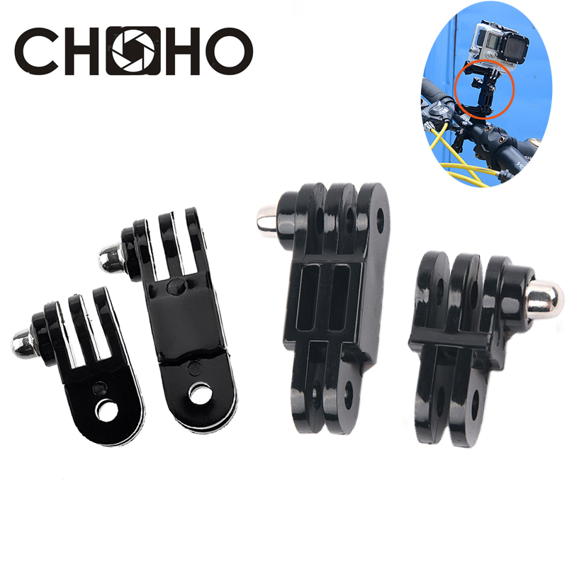 3 Way Adjustable Pivot Arm Long & Short Adjust Arm Straight Joints Adapter For Gopro Hero 8 7 6 5 Xiaomi Yi 4k SJCAM Accessories