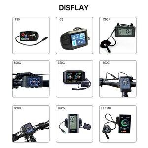 Image 3 - 48V750W Bafang/8fun BBS02B אמצע כננת כונן מנוע ערכות Eletric אופניים Ebike ערכות MM G340.750 10Ah 14Ah 17Ah סמסונג סוללה