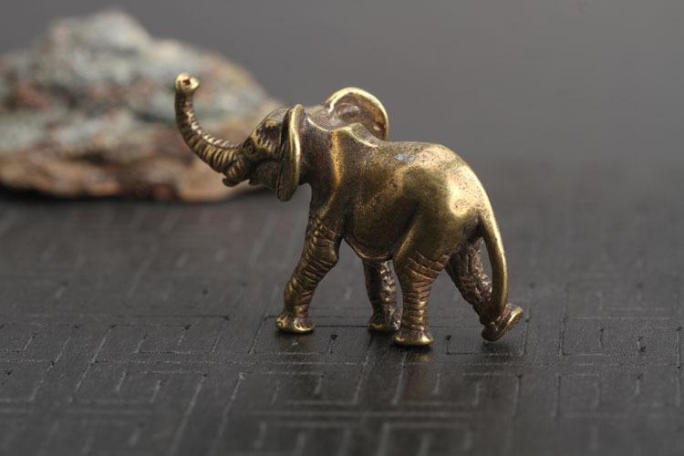 Brass Elephant Key Chains Pendants  (16)
