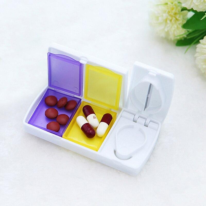 Разделители для лекарств, разделители для хранения, мини-разделители для путешествий, домашние портативные диспенсеры для таблеток, 1 шт.