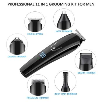 Hair trimmer Professional hair clipper electric hair clipper electric shaver beard trimmer man shaving machine cut nose electric 4