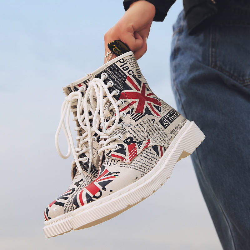 Jason. Martins bottes femmes chaussures en cuir véritable hiver militaire désert bottes décontracté printemps Botas Mujer femme bottines