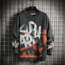 Men's Sweaters Pullovers Spring Winter Clothes Korea-Style 5XL Casual Standard Autumn