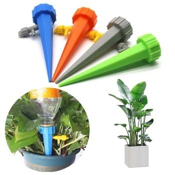 5 Stks/partij Auto Drip Irrigatie Watering Systeem Druppelaar Spike Kits Tuin Huishoudelijke Plant Bloem Automatische Waterer Irrigatie Tool