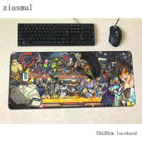 Overwatch mouse pad gamer Splendida 70x30cm gaming mousepad pc notbook scrivania stuoia padmouse giochi Estetismo gamer tappeti gamepad