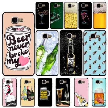 YNDFCNB Beers Alcohol Summer Bubble Phone Case for Samsung A6 A8 Plus A7 A9 A20 A20S A30 A30S A40 A50 A70 image
