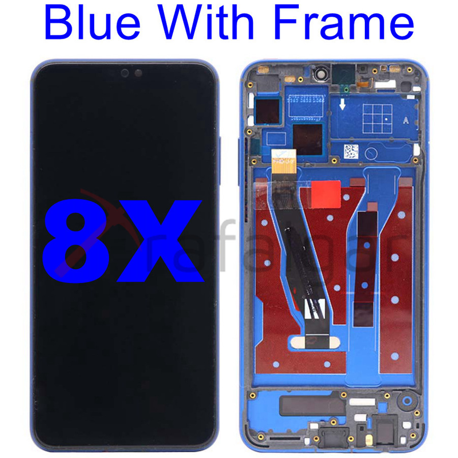 Image 4 - For Huawei Honor 8X LCD Display Touch Screen Digitizer With Frame
