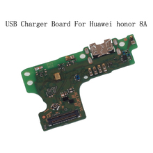 USB Plug Charger Board For Huawei Honor 8A Microphone Module Cable Connector For Huawei Honor 8A Phone Replacement Repair Parts