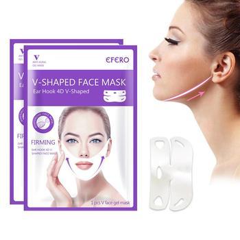 V Lifting twarzy maska do uszu V podnoszenie linii podbródek do podnoszenia podnoszenia pielęgnacja skóry twarzy zmniejszanie porów nawilżanie nawilżające wybielanie tanie i dobre opinie Fovolat Other 19x10x1cm V face Hand made 110 v (不含)-220 v (不含) Brak elektryczne V Face Lifting Ear Mask