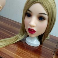 63# Oral sex dolls head Soft skin TPE Love dolls head American gril face suitable 135cm 176cm doll body shipping by DHL