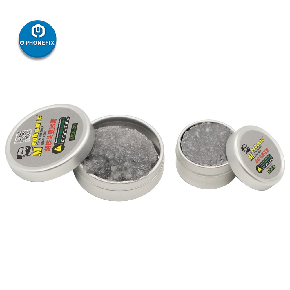 Mechanic Soldering Iron Refresher Clean Paste Oxide Solder Iron Tip Repair Tools For IPhone Repair Welding Paste