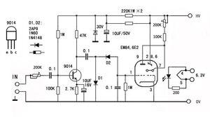 Image 3 - Leory 6E2 管プリアンプオーディオボード vu 電源レベルドライバボード音量インジケータ胆汁プリアンプ真空トーン信号 diy キット