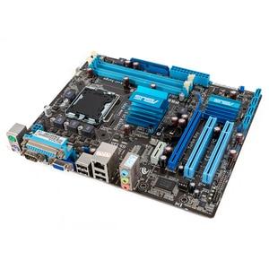 Image 3 - Asus P5G41T M LX V2 Desktop Motherboard G41 Socket LGA 775 For Core 2 Duo DDR3 8G SATA2 VGA uATX Original Used Mainboard