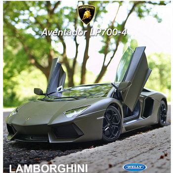 welly 1:18 Lamborghini LP700  alloy car model simulation car decoration collection gift toy Die casting model boy toy new arrival gift lp700 matte 1 18 model car collection alloy diecast scale table top metal vehicle sports race decoration toy