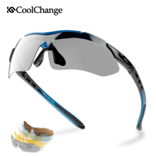 CoolChange Professional Polarized Cycling Glasses Bike Goggles Outdoor Sports Bi