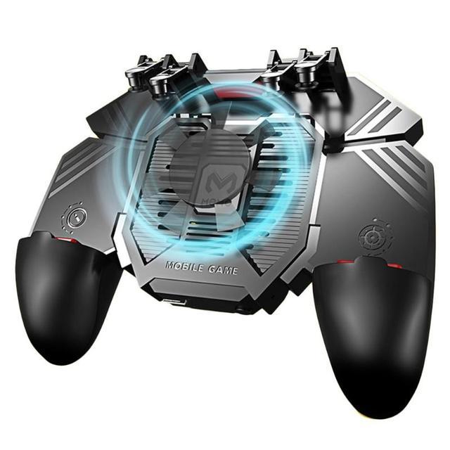 AK77 6指pubg携帯ジョイスティックゲームコントローラゲームパッドトリガー撮影ゲームパッドusb充電ジョイスティックpubg