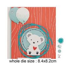 84*82m Oval Circle Frame background Metal Cutting Dies  Scrapbooking Stencils DIY Cutter Handmade Craft