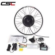 Комплект для переоборудования электрического велосипеда 48 в 1500 Вт, комплект для передних и задних колес 20, 24, 26, 27,5, 28, 29 дюймов 700C ebike