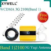 3g 2100 mhz repetidor gsm impulsionador de sinal móvel lte (band1) 2100 mhz 3g celullar amplificador 4g impulsionador de sinal celular