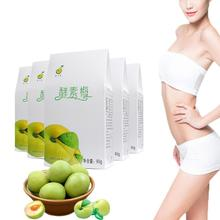 цена на Toxoxification Beauty Share Plum Suibianguo Weight Loss Diet Natural Slimming Fat Burn Confit Green Plum Improve Constipation