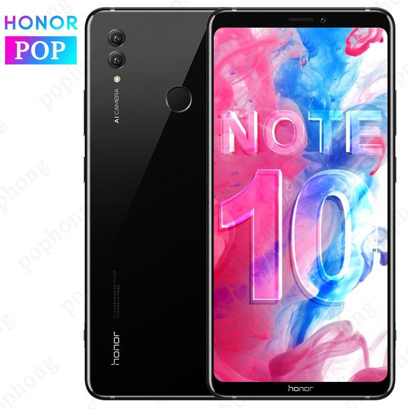 Original HONOR Note 10 6GB 64GB Mobilephone 6.95 Inch AMOLED Kirin 970 Octa Core Android 8.1 Rear 24.0+16.0MP Fingerprint