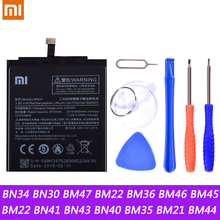 BN34 BN30 BM47 BM22 BM36 BM46 BM45 BM22 BN41 BN43 Battery For Xiaomi Redmi 5A 4A 3 3S 4X Mi 5 5S Mi5 Mi5S Redmi Note2 3 Battery
