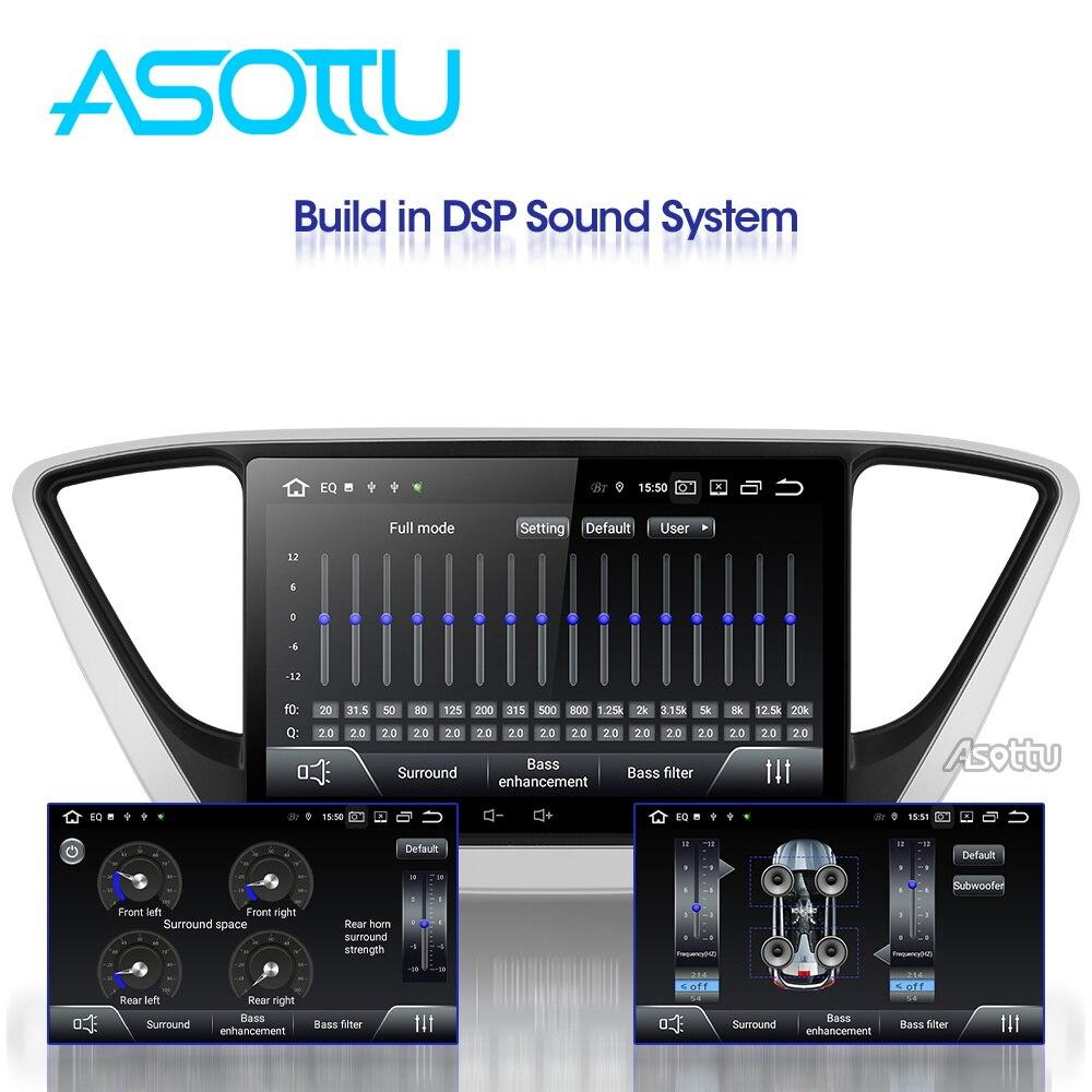 Asottu C17YN9060 PX30 9,0 автомобильный DVD gps плеер для hyundai Verna 2017 автомобильный ПК головное устройство Автомобильный Радио Видео плеер навигация gps dvd