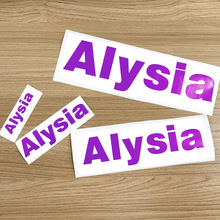 Sticker Label Name-Tags Personalised Water-Bottle Room-Door Vinyl Custom for Lanch-Box