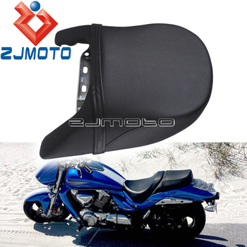 Motorcycle Seat Cover For Suzuki Boulevard M109R 2006-2012 LT VZR1800 Intruder 2007-2008 PU Leather Rear Passenger Seat Cushion